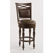 Hillsdale Seaton Springs 26'' Swivel Bar Stool