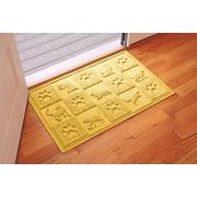 Bungalow Flooring Aqua Shield Cat in the Doormat; Yellow