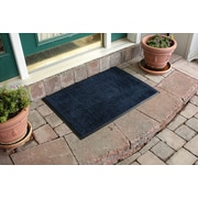 Bungalow Flooring Aqua Shield Dirt Stopper Supreme Doormat; Deeper Navy