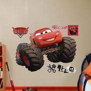 Fathead RealBig Disney Cars Monster Trucks Lightning McQueen Wall Decal