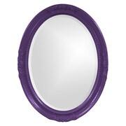 Howard Elliott Queen Ann Mirror; Royal Purple