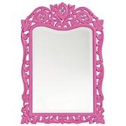 Howard Elliott St. Agustine Mirror; Hot Pink