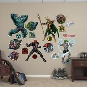 Fathead RealBig Marvel Avengers Assemble, Villains Wall Decal