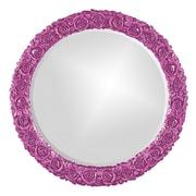 Howard Elliott Rosalie Mirror; Hot Pink