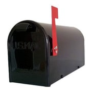 GDM Mailbox Company Newport Post Mounted Mailbox; Black
