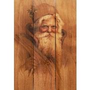 Gizaun Art Father Christmas 3 Piece Textual Art