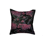 Maxwell Dickson 'Faces in the Trees' Throw Pillow