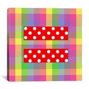 iCanvas Flags Equality Sign, Equal Rights Symbol Graphic Art on Canvas; 18'' H x 18'' W x 0.75'' D