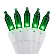 Kringle Traditions 100 Mini Lights 3'' Lead; Green