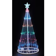 Kringle Traditions 4' LED Light Show Tree; Multi