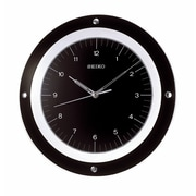 Seiko 12.6'' Dial Wall Clock; Black