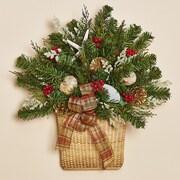 Harvest of Barnstable Christmas Cove Nantucket Wall Basket