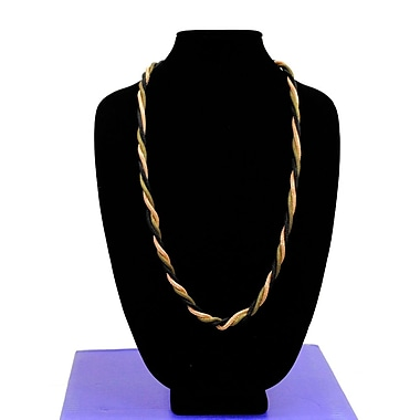 Best Desu Alley Style Designer Series 3-In-1 Handmade Metallic Braided Necklace