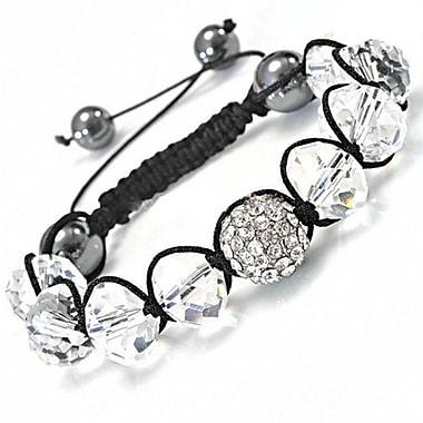 Best Desu Shambala-Style Crystal Bracelet, Dark Sapphire