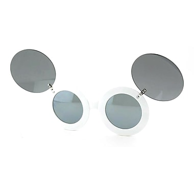 Best Desu Mickey Mouse Style Sunglasses, White