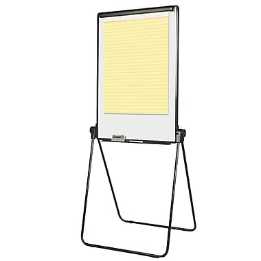 MasterVision Footbar Folds-to-a-Table Presentation Easel, 29