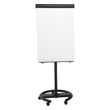 MasterVision 360 Degree Gold Ultra Dry Erase Mobile Multi-Use Presentation Easel (EA4806156)