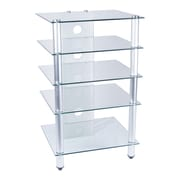 Tier One Designs Audio Rack; Clear