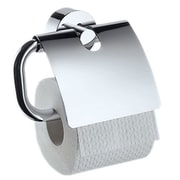 Hansgrohe Axor Uno Wall Mounted Toilet Paper Holder with Cover; Brushed Nickel
