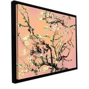 ArtWall Eggshell Almond Blossom Canvas Art by Vincent Van Gogh; 18'' H x 24'' W x 2'' D