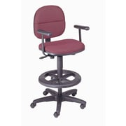 Nexel Mid-Back Drafting Chair with Footring