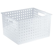 InterDesign Mod Storage Basket; Clear