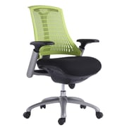 VIG Furniture Modrest Mid-Back Office Chair; Green