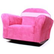 Keet Keet Bubble Children's Chair; Microsuede - Pink