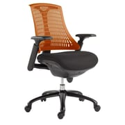VIG Furniture Modrest Mid-Back Office Chair; Orange