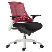VIG Modrest Innovation Modern Mid-Back Office Chair; Red