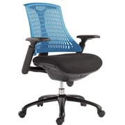 VIG Furniture Modrest Mid-Back Office Chair; Blue