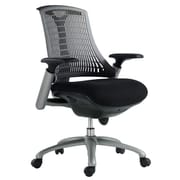 VIG Furniture Modrest Mid-Back Office Chair; Grey