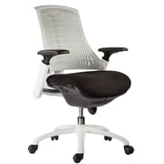 VIG Modrest Innovation Modern Mid-Back Office Chair; White