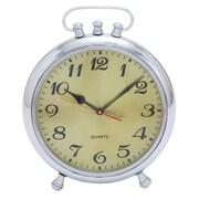 EC World Imports Vintage Classic 13'' Aluminum Metal Table Clock