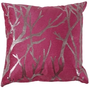 Cortesi Home Orchid Birch Decorative Throw Pillow