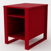 Altra End Table; Ruby Red