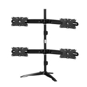 Dyconn Albatross Adjustable Height Universal Quad-Display Monitor Mount Stand