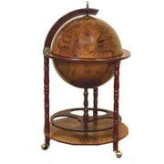 EC World Imports Antique Reproduction Sixteenth-Century Italian Old World Globe Mini Bar