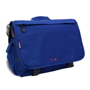 J World Thomas Laptop Messenger Bag; Navy