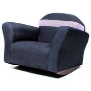 Keet Keet Bubble Children's Chair; Denim - Pink