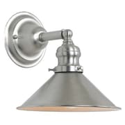 JVI Designs Union Square 1 Light Wall Sconce; Pewter