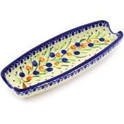 Polmedia Polish Pottery 9'' Corn Tray