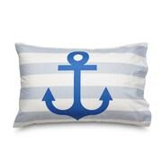 Amadora Design Concepts Queen Anchor Ultra Microfiber Pillowcase (Set of 2)