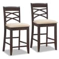 Leick Favorite Finds 24'' Bar Stool with Cushion (Set of 2)