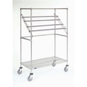 Nexel Additional Support Bar for Sterile Wrap Rack; 2'' H x 60'' W x 2'' D