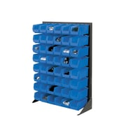 Nexel Single Sided Floor Bin Rack