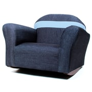 Keet Keet Bubble Children's Chair; Denim - Blue