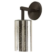 JVI Designs Grand Central 1 Light Wall Sconce; Pewter