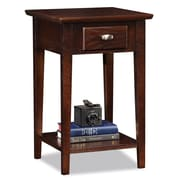Leick Chocolate Oak End Table
