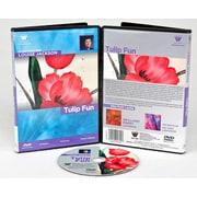Weber Art Louise Jackson Watercolor Tulip Fun 50 Minute DVD
